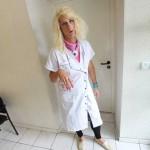 portrait Nunsu fonctionnaire II secrétaire médicale à l'hôpital de Reims sebastopol dans le clip Pôle Emploi du rappeur français Nunsuko