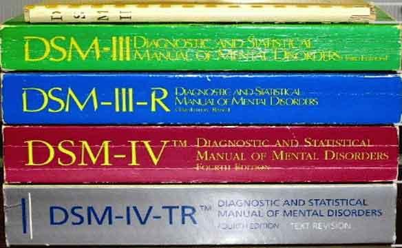 le dsm, manuel des troubles psychiatriques de références