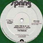 fatback band king tim 3 premier oeuvre de rap américain