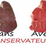 conservateurs alimentaire additif antioxydant edulcorants