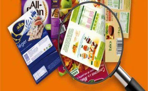 Etiquettes alimentaires
