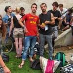 jeune adolescent clip rap tournage figurant ville reims place forum