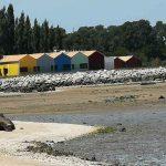 les cabanes d'huitres en charente maritime et leurs différentes couleurs