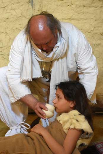 Quelles sont les techniques de soin de la part du chef en médecine de l'époque Gauloise : le Druide?